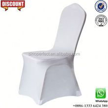 Foshan near Guangzhou China white polyester universal elastic chair cover