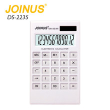 Office Gift JOINUS Custom Desktop Digital Solar Calculator