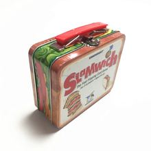 Lovely lunch tin box with handle/Lunch tin box /Metal lunch tin box