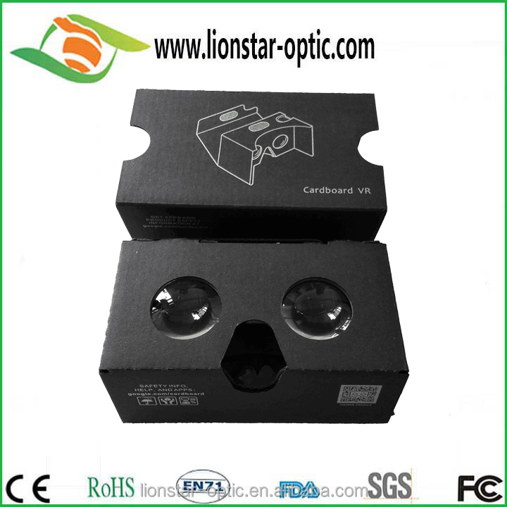 Hot Sale Logo Print Custom Cheap Cardboard Vr Box Glasses for 3D Movie