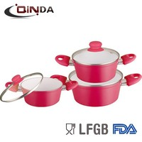 aluminum ceramic korean cookware
