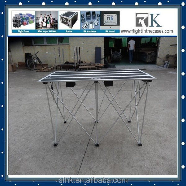 Portable DJ Stand For Sale/Aluminum DJ Stand Table /Concert Outdoor Events Stage