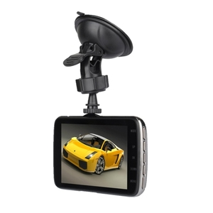 4.0 inch HD Vehicle Traveling Driving dual camera car dvr Recorder Digital Video Camera with Dual Camera,Support TF Card 32gb