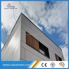 light weight ACP wall cladding aluminum compoiste panel