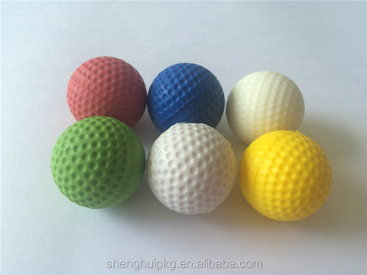 USA Hot Sell 0.9 inch Colorful Rival PU Ball Compatible PU Foam Ball Rival Round PU stress Ball