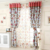 Wholesale sunproof shade cloth polyester jacquard bedroom blackout curtain