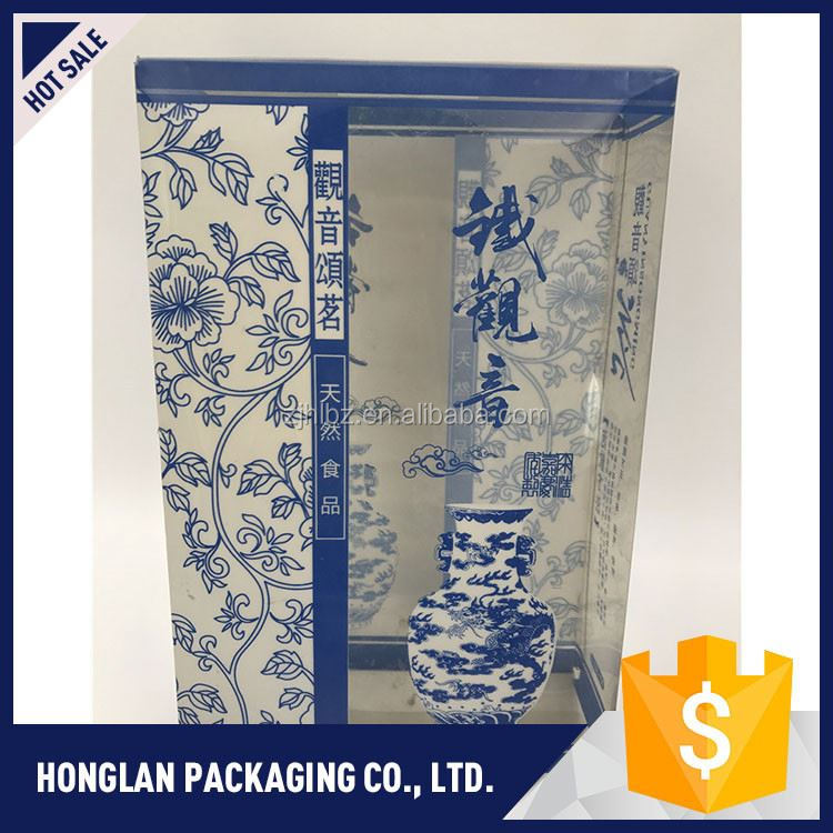 professional disposable gift packaging clear pvc box with good prices
