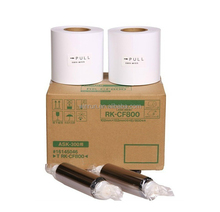New product for Fujifilm ASK-300 photo paper ( 2 roll printer ribbon +2roll photo paper)
