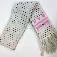 High Quality Best Popular 100% Acrylic scarf women Knitted Scarves