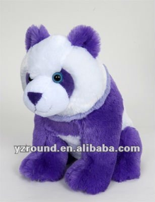 posh plush purple panda