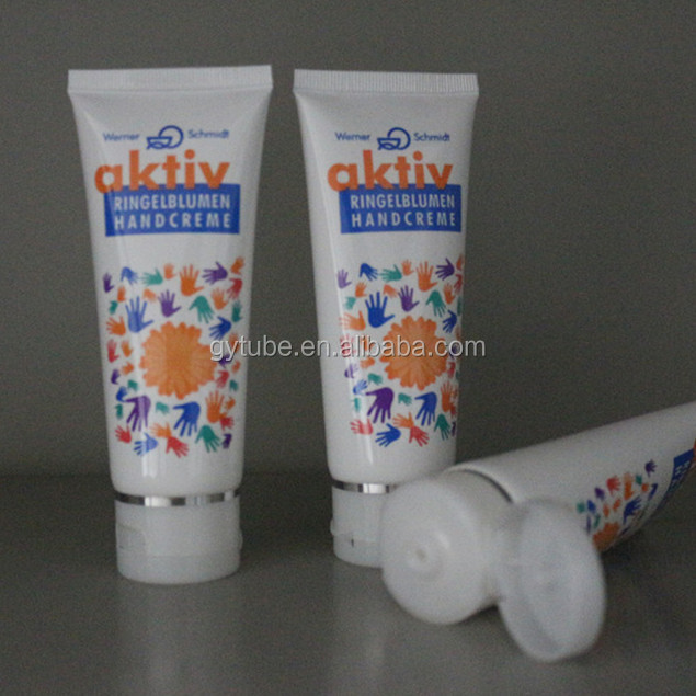 Hot Soft Plastic Cosmetic Tube For Hair Cream