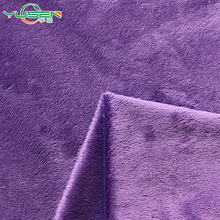 single side super soft velboa fabric Short Pile fur fabric for garment lining