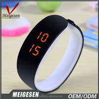 New Arrival Different Colors LED Digital Wristwatch Nice for gift Waterproof New LED Watch