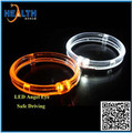 DRL high bright light guide LED angel eyes with turning feature