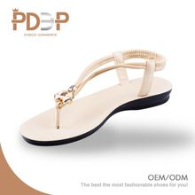 Popular selling model custom color rope sandals