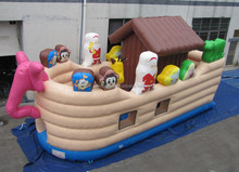 inflatable small animal house playground& play land equipment