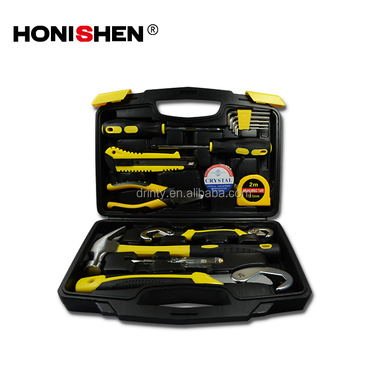 Wholesale 16pcs Car repair tool kit household tool set DGHT01