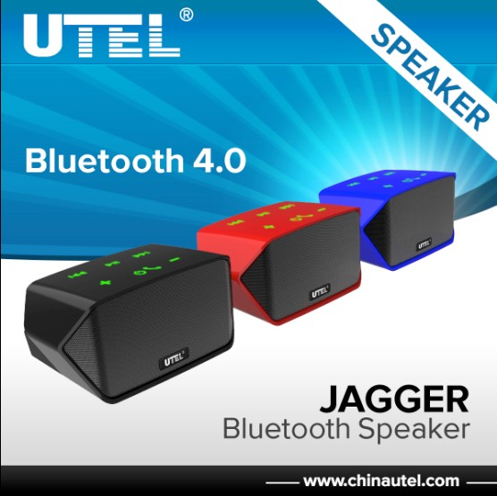 UTEL S2 colorful dual link touch-panel small bluetooth speaker