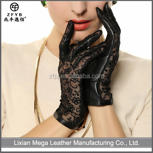 High quality custom leather summer driving glove importer in italy