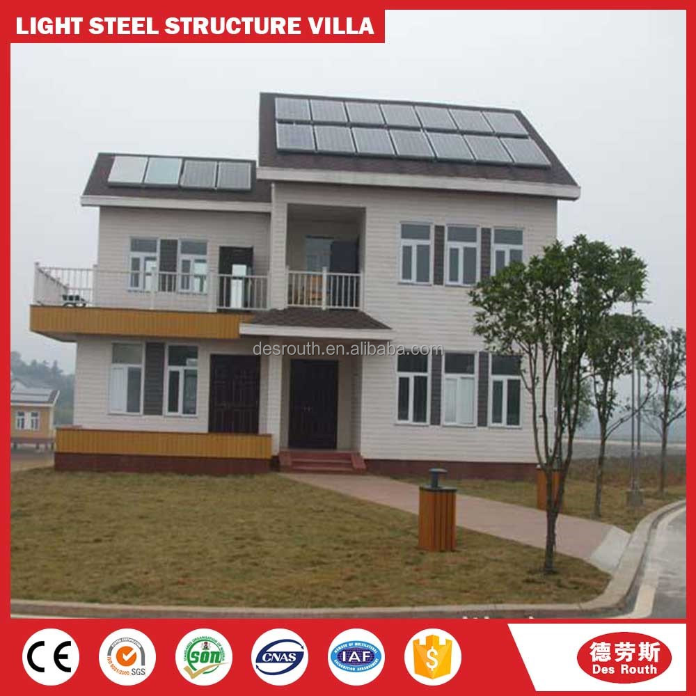 Prefabricated light gauge steel framing/Low price beautiful house