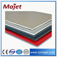 Exterior wall cladding acp aluminum composite panel price paper wallboard