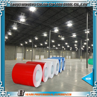 DX51D PPGI Prepainted Galvanized Steel Coil/Desinged Color coated steel coil PPGI sheet in coil for Roofing Building