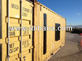 20 ft used containers