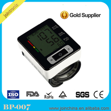Automatic Digital Arm Blood Pressure Monitor & Heart Beat Meter for home,wrist blood pressure cuff apparatus device