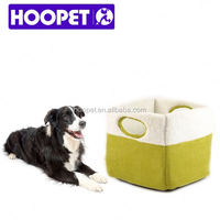 2016 HOOPET new arrival dog house with porch dog mat