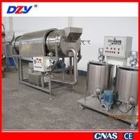 Low price high quality cooked flour of the particle production line (pizzaroll, shell)