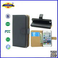 in stock for iphone 4 leather wallet cover