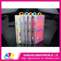 sublimation beautiful custom plastic box,top gear phone case