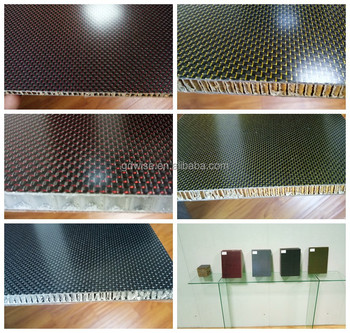 Carbon fiber and foam sandwich plate /Aramid fiber honeycomb plate
