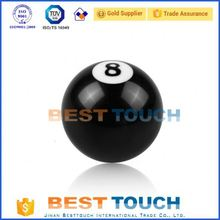 Universal auto 10 * 1.25 customized car 8 eight ball gear shift knob with convert nut