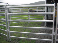 Hot-dipped Galvanizing Cattle Hurdles/Livestock handling Panels