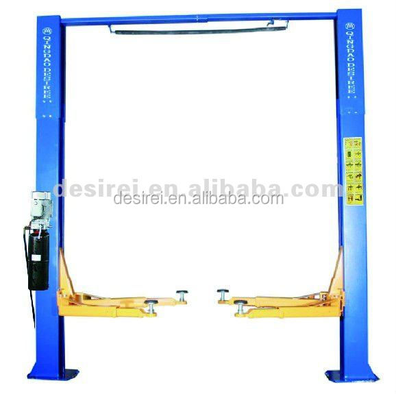 DTPO607S plunger double cylinder hydraulic car/automotive lifts for workshop