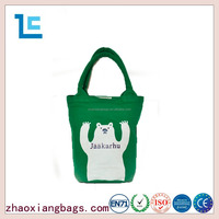 Zhaoxiang 2016 standard size cotton canvas foldable shopping tote bag