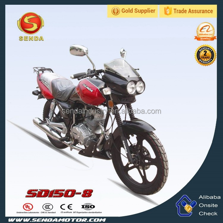 Hot Sale Cheap Popular China Wholesale Street Bike 150CC Motorcycle SD150-8