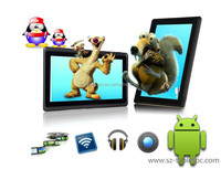 Most Popular Fashionable 7 inch android 4.4 tablet pc q88 for children