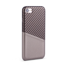 For iphone 6 card slots magnetic cover pu leather case