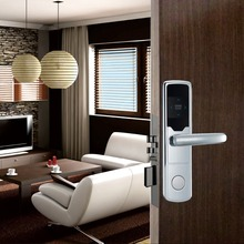 RX1008E-Y electric hotel card door lock S50 13.56mHz card software management door locks