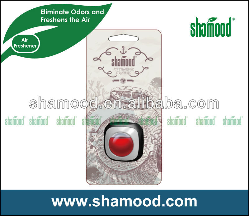 Shamood Brand Car Vent Air Freshener Strong Scent With Special Membrane