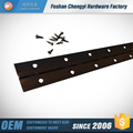 steel continuous black bronze piano hinge for furniture