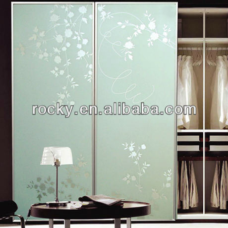Painted back glass for Furniture and Decoration