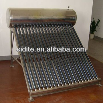 Integrative Stainless Steel Non-Pressurized Solar Water Heater/Stainless Steel Inner and Outer Tank/Frame