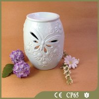 Home decor ceramic wax incense burner/oil burner wholesale