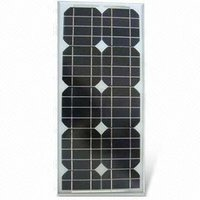 25W Mono Solar Panel with 12V,CE certificate