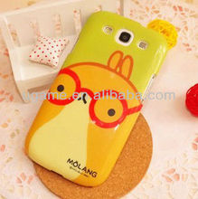 Red glass potato rabbit hard case for samsung galaxy s3 i9300