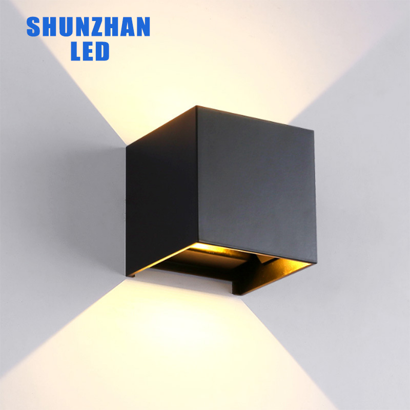 Zhongshan wholesale factroy price ip65 aluminum 6w 10w outdoor led wall light