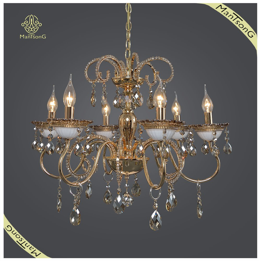 New Designs Indoor Decorative Indoor Antique Lighting, Crystal Chandelier Pendant Lamp